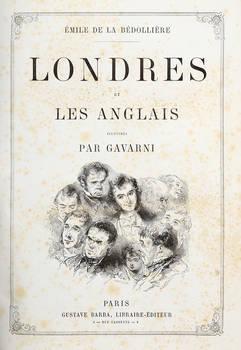 Londres et les Anglais, illustrés par Gavarni.