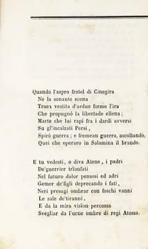 A Giovan Battista Niccolini.