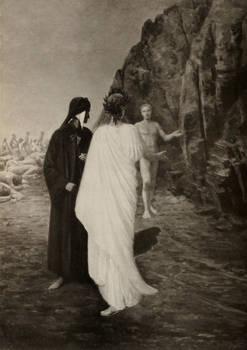 La Divina Commedia novamente illustrata da artisti italiani a cura di Vittorio Alinari.