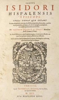 Opera omnia quae extant: partim aliquando virorum...laboribus edita...chirographa exemplaria...emendata. Per fratem Iacobus Du Breul monachum...
