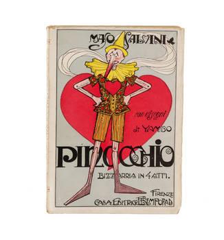 Pinocchio. Bizzarria in 4 atti, con disegni di Yambo.