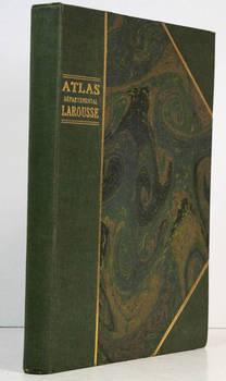 Atlas départemental Larousse. 850 gravures-100 cartes en couleurs-10 cartes en noir.