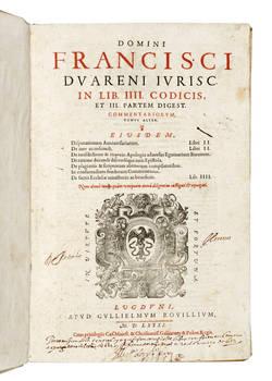 Omnia quae quidem hactenus extant Opera.. (Tomus Primus)- (Tomus Alter)