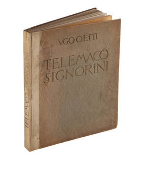 Telemaco Signorini. Galleria Pesaro, Gennaio MCMXXX.