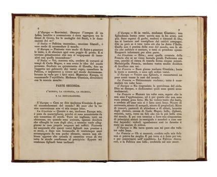 Dialoghetti sulle materie correnti nell'anno 1831. Aggiunte alla sesta edizione dei dialoghetti.