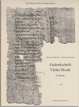 GEDENKSCHRIFT ULRIKE HORAK (P.Horak).