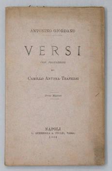Versi. Con prefazione di Camillo Antona-Traversi.