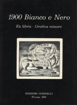 1900 BIANCO e NERO Ex libris - Grafica Minore