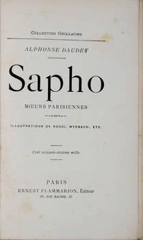 Sapho, moeurs parisiennes. Illustrations de Rossi, Myrbach, etc.