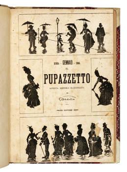 Il Pupazzetto rivista mensile illustrata di Gandolin.