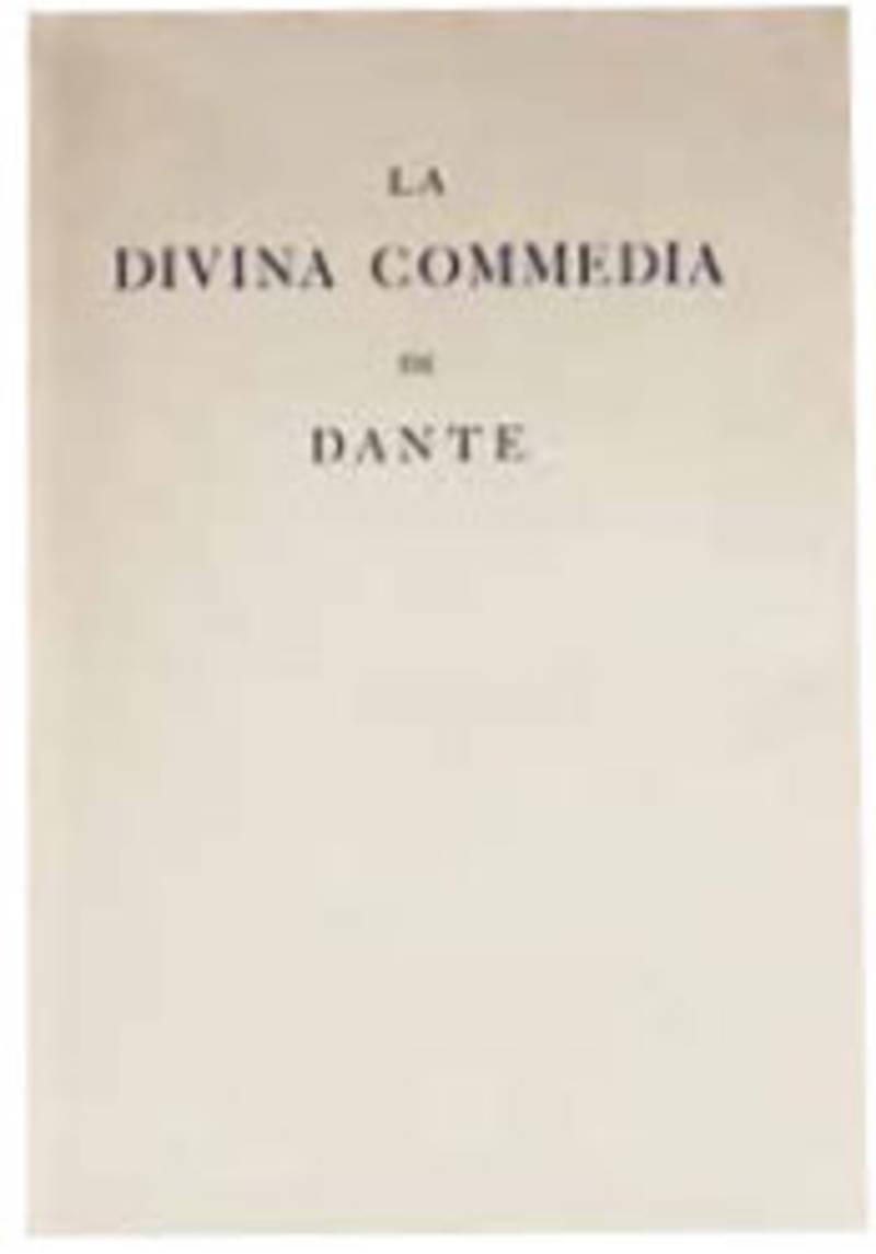 La Divina Commedia di Dante Alighieri, cioè l'Inferno, il Purgatorio, ed il Paradiso. Composto da Giovanni Flaxman scultore inglese, e tratto dall'incisione di Tommaso Piroli romano da Francesco Vason l'anno 1838. (Segue: ) N.7 tavole fatte sulla i