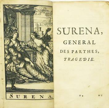 Surena, general des parthes. Tragédie. (Estr.).
