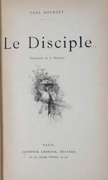Le Disciple. Illustrations de S. Macchiati.