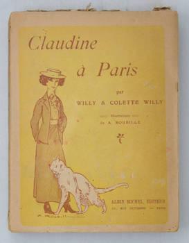Claudine à Paris. Illustrations de A. Roubille.