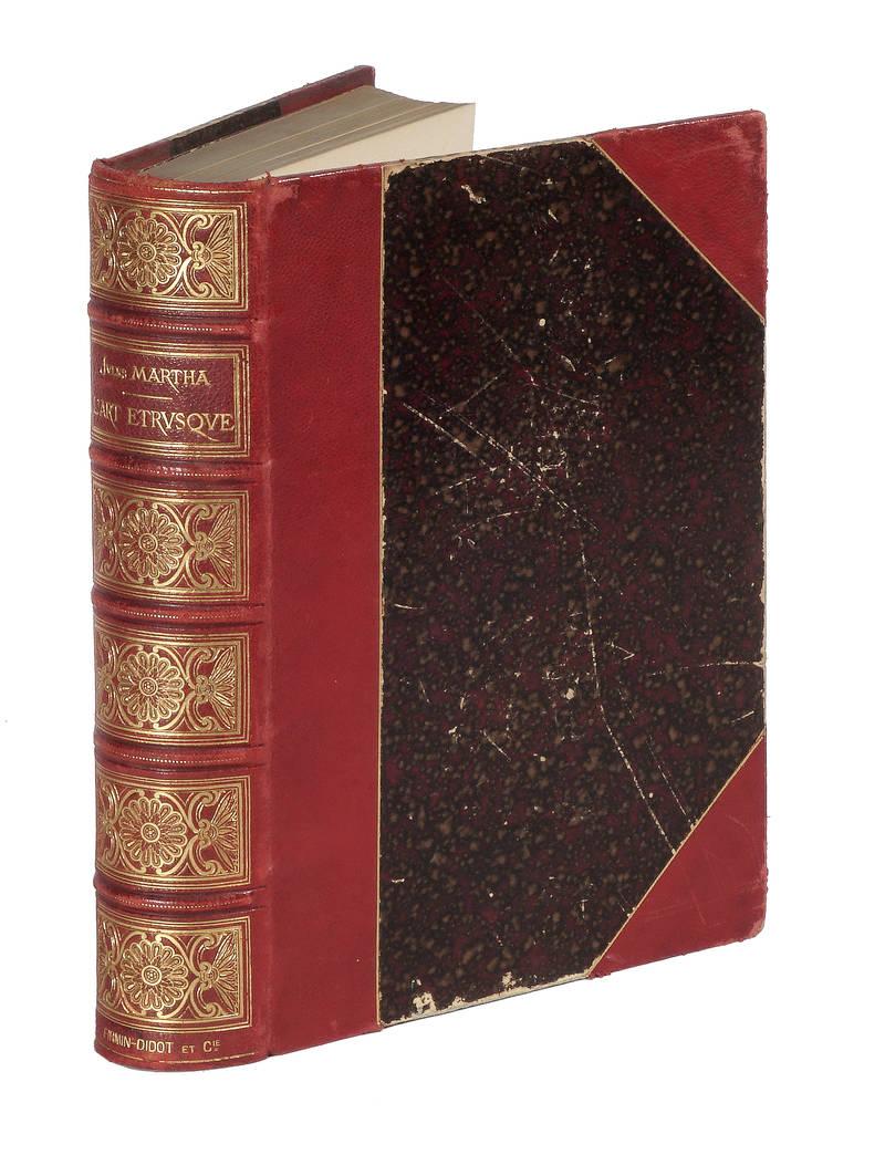 L'art étrusque, illustré de 4 planches en couleur et 400 gravures sans le texte.