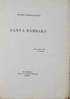 Santa Barbara.