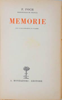 Memorie. Con 24 illustrazioni e 16 carte.
