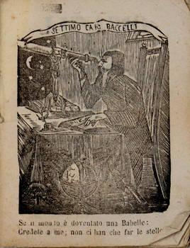 LUNARIO dell'insigne astrologo, filosofo e matematico Sesto Cajo Baccelli, il vero rampollo dell'estinto Cajo Baccelli, il vero rampollo dell'estinto Cajo Baccelli...