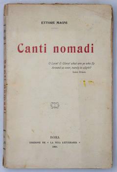 Canti nomadi.