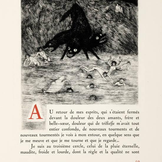 L'Enfer. Eaux-fortes originales de Edouard Goerg.