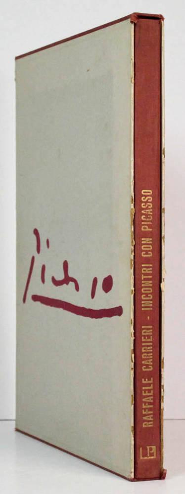 Antologia di Picasso. 32 composizioni litografiche a colori del periodo 1900-'61 con 2 poemi di Carrieri dedicati all'artista. Note critiche di Franco Russoli. Milano, Studio Ed. d'Arte Perna, 1962.