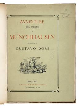 Avventure del Barone di Mùnchhausen illustrate da Gustavo Dorè.