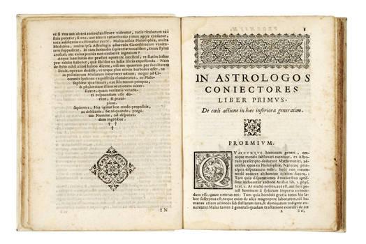 In astrologos coniectores libri quinque...Secundo prodeunt ab Auctore multis Amanuensium erroribus liberati, novisq; exemplis illustrati.
