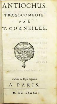 Antiochus, tragi-comédie. Suivant la Copie imprimée a Paris, M.DC.LXXXXI (1691).