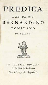 Predica (a cura di Sebastiano Pagello).