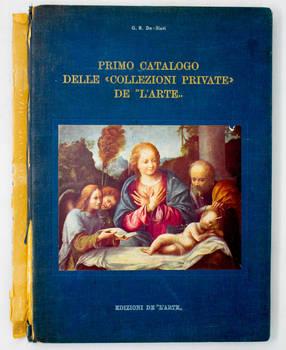 """Primo catalogo delle """"Collezioni private"""" de """"L'Arte""""."""