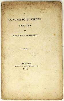 Il Congresso di Vienna. Canzone.