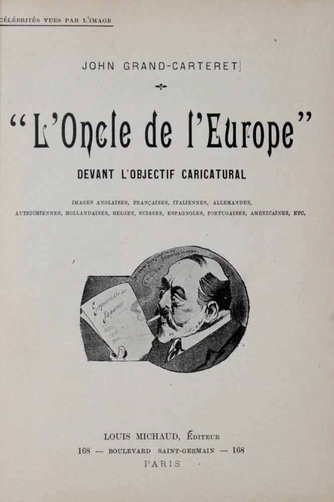 L'oncle de l'Europe devant l'objectif caricatural...