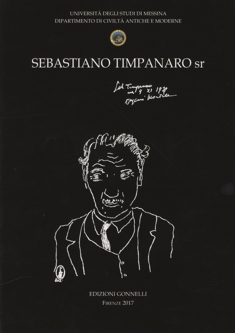 Sebastiano Timpanaro sr. Carteggi (1915-1949).